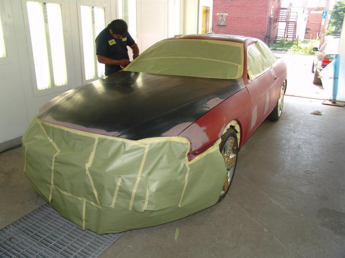 Кузовной ремонт автомобиля своими руками в гараже 72