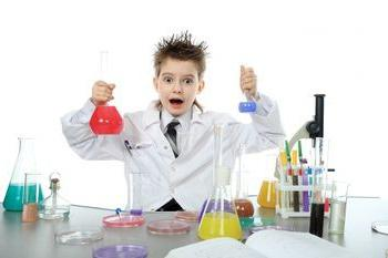 Chemical experiments for children