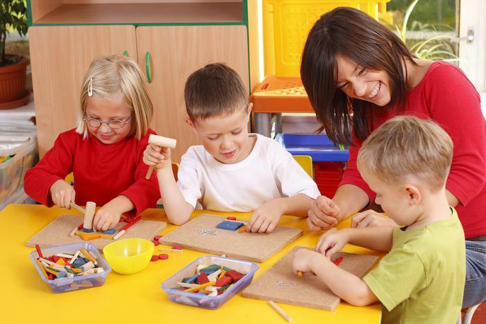 заполненное портфолио воспитателя детского сада