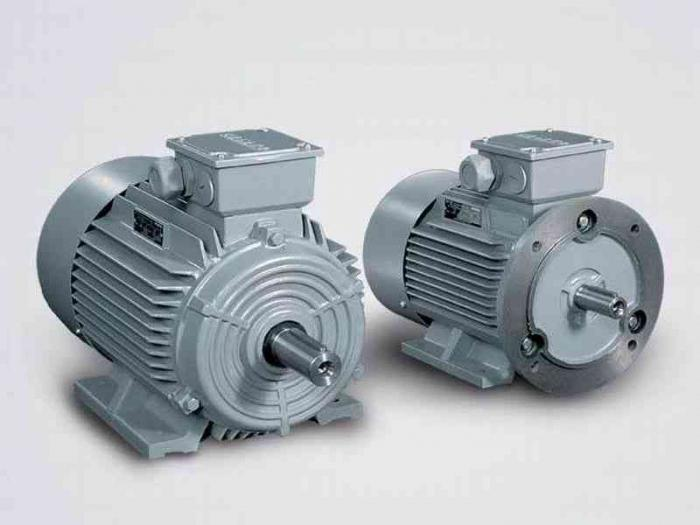 characteristics of asynchronous electric motors
