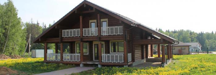 Cottage village Bear Lake