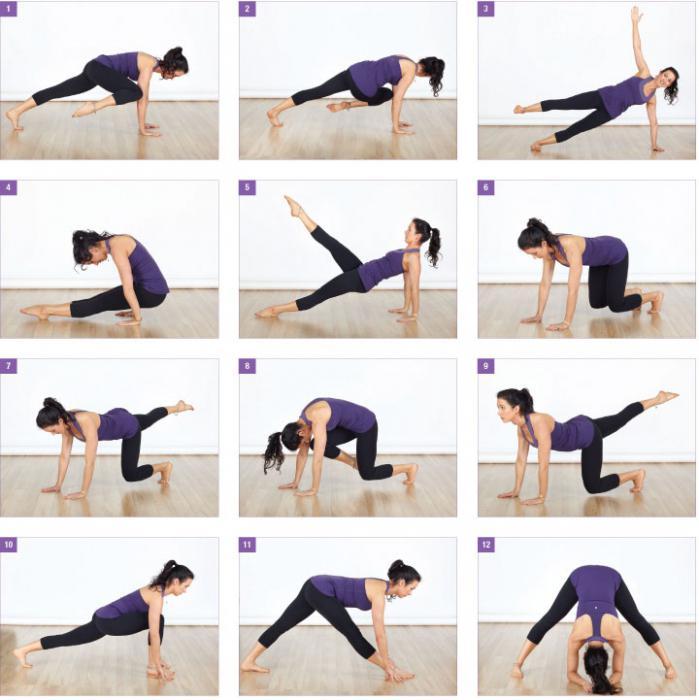 Упражнения для похудения видео комплекс