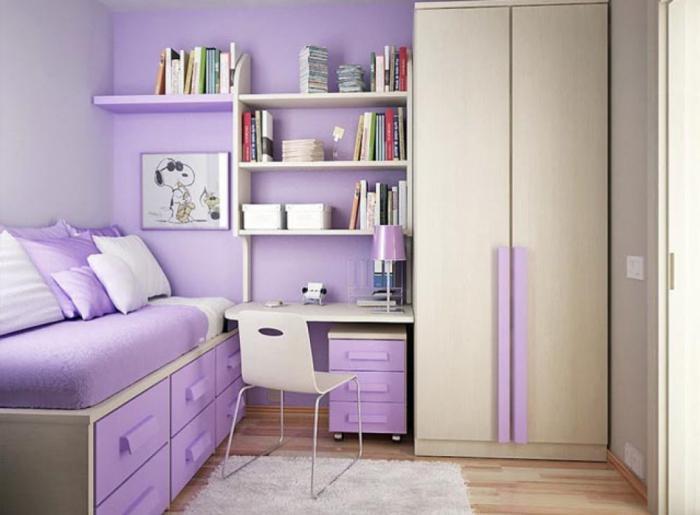 Идеи дизайна комнаты для девочки подростка