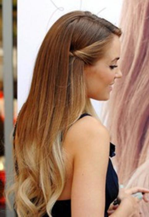 Прически с невидимками на длинные волосы