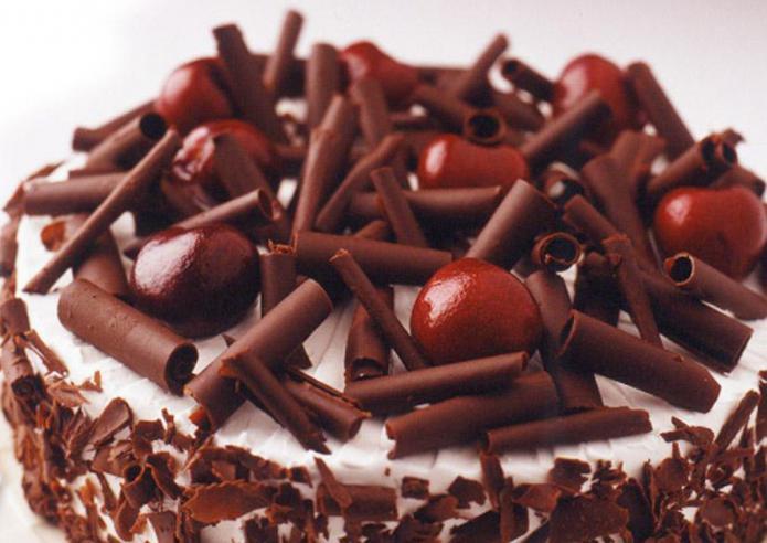 Украшение торта шоколадной стружкой фото