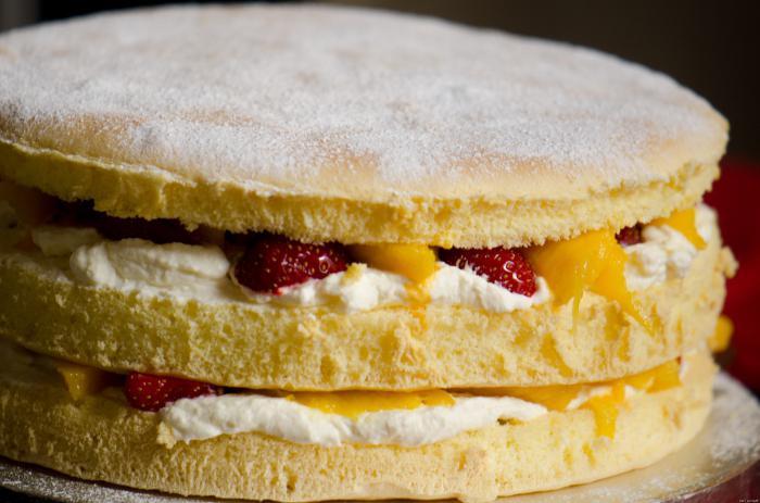 бисквитный торт пошаговый рецепт с фото из готовых коржов