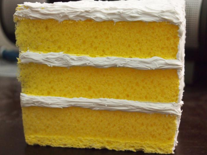 Рецепт торта для готовых бисквитных коржей