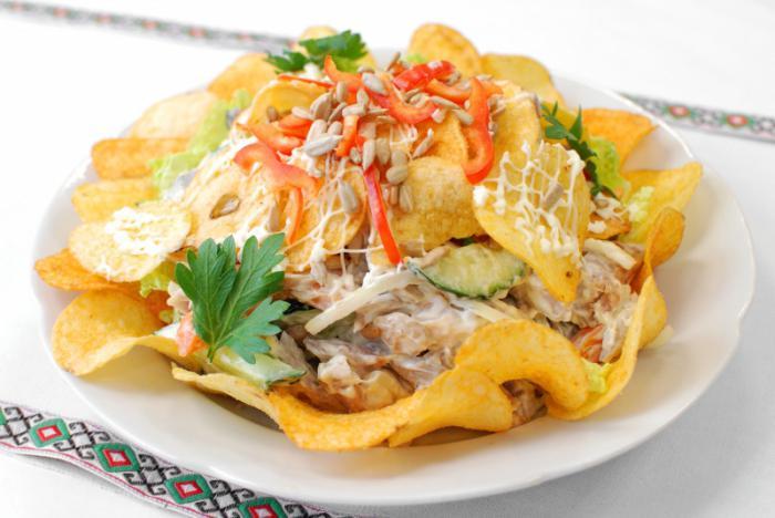 9 рецептов домашних салатов