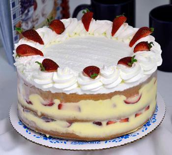 начинка для торта из коржей