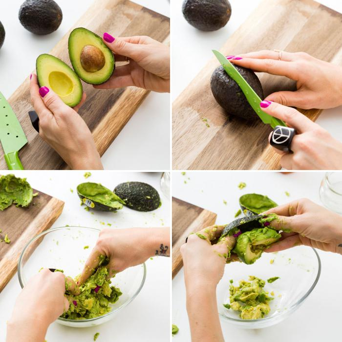 need to peel avocados