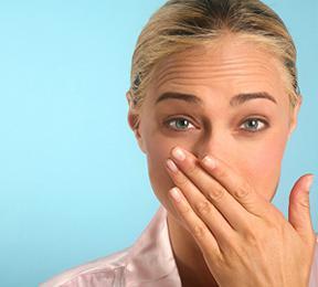 появился неприятный запах изо рта