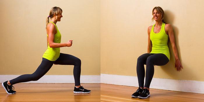 убрать жир ляшек видео упражнения