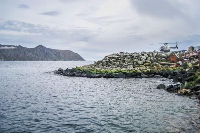 Россия остров Ратманова