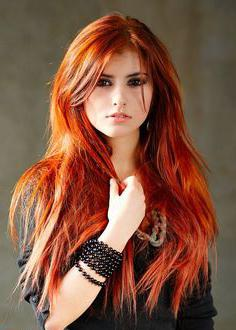 coppery hair color