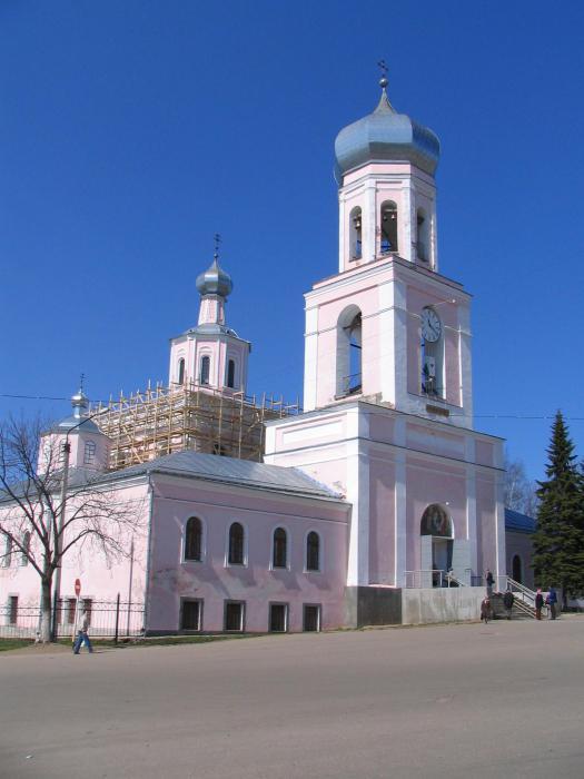 sights of Valdai and its environs