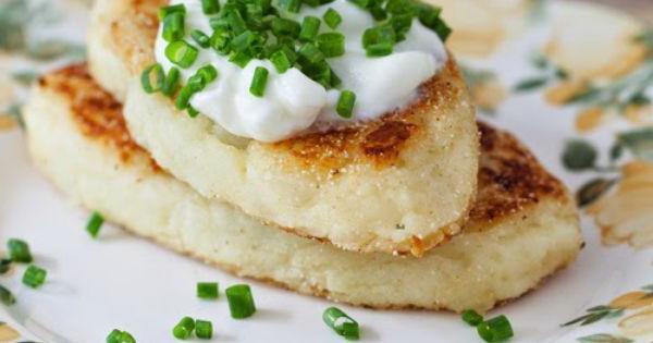 Картопляники - рецепт без начинки