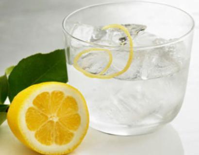 Водка с лимоном