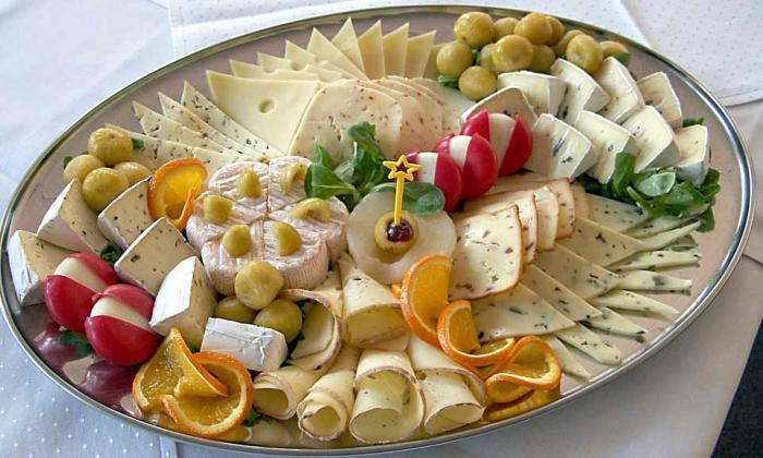 Сырная тарелка - какие сыры?