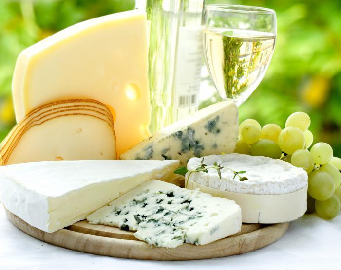 Сырная тарелка - состав