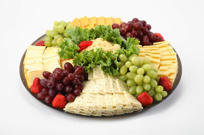 Сырная тарелка - оформление