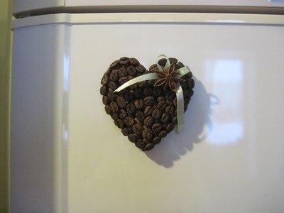 поделки из зерен кофе своими руками