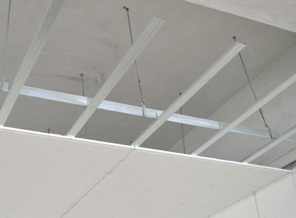 plasterboard ceilings in the bedroom