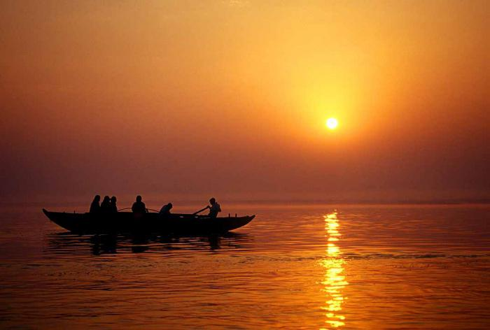 Река Ганг, описание и характеристика