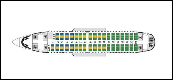 схема боинг 737 500 трансаэро