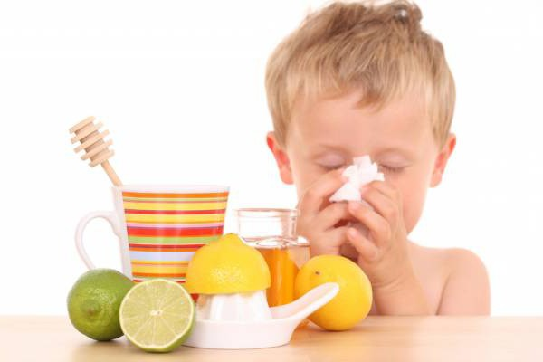 Mustard Drops for Children When Coughing