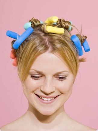 how to wind curlers papilotki