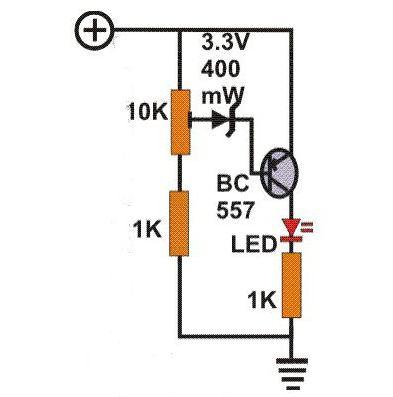 Индикатор переменного тока на светодиодах