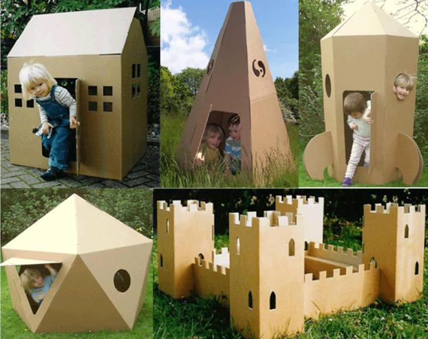 Как сделать домик для детской