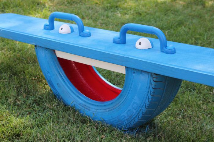 Идеи для детской площадки из подручных средств