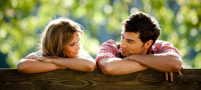 как понять любит ли парень если не знакомы