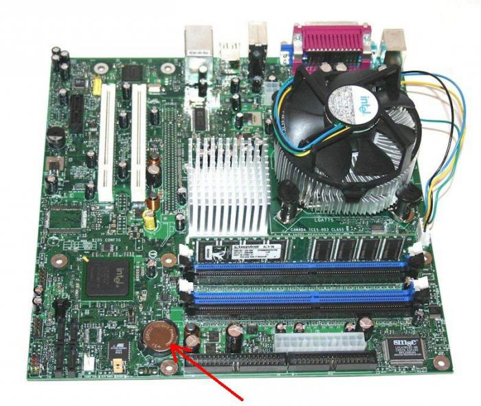 battery replacement on motherboard