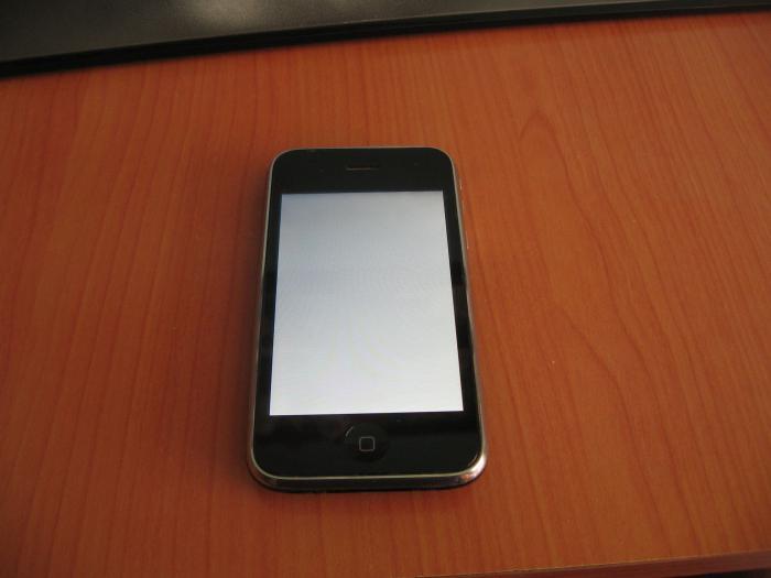 Телефон упал экран горит белым что делать