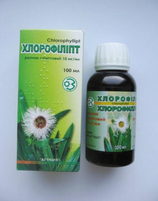 Хлорофиллипт инструкция цена