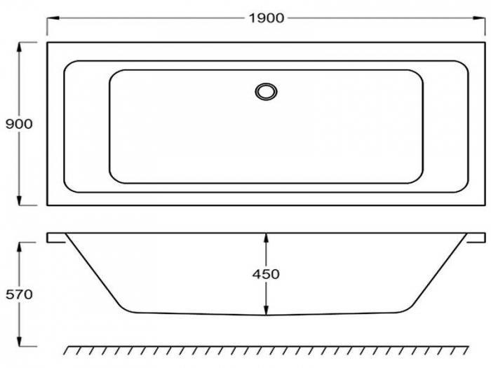 standard bath sizes