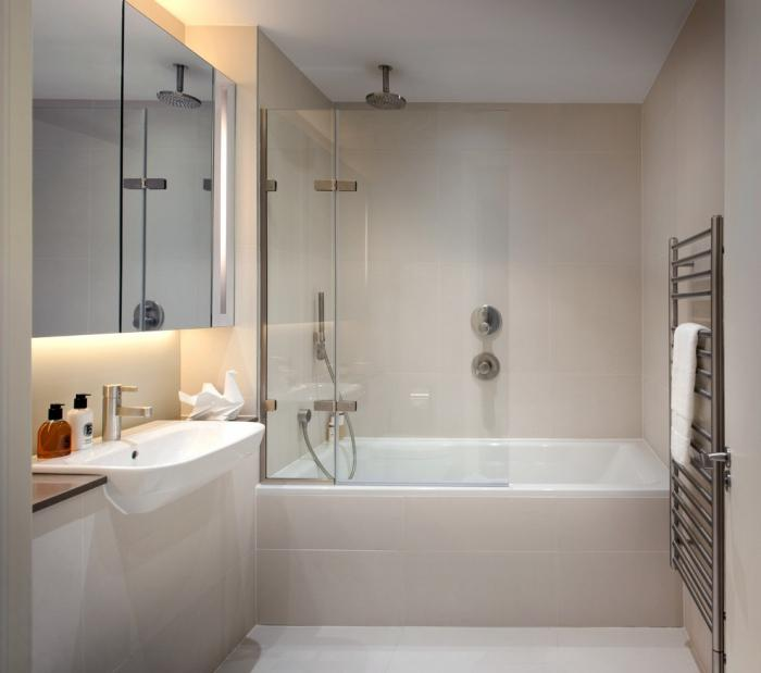 the size of a standard bathroom in a panel house