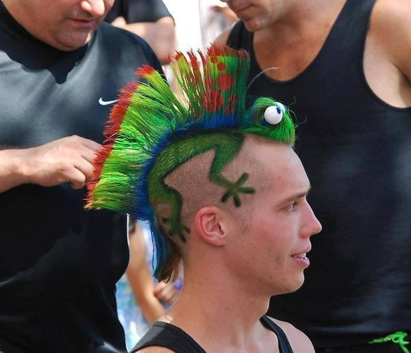 mohawk hairstyle male short