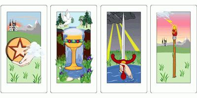 balance of tarot on the development of the situation