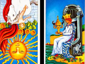balance of tarot on the outcome of the situation