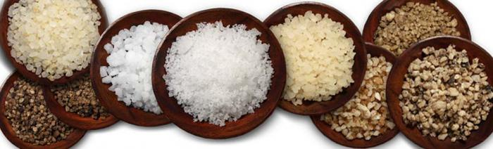 composition of sea salt edible