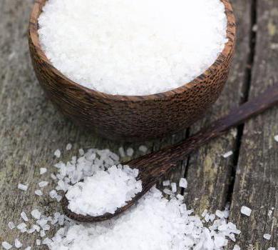польза пищевой морской соли