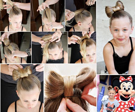 Прически на средние волосы своими руками на праздники