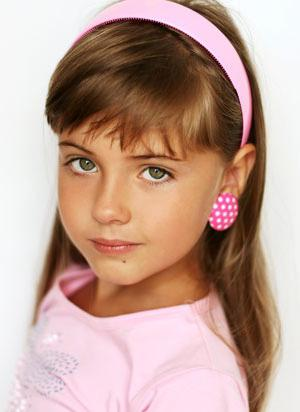 Little girl short haircuts with bangs