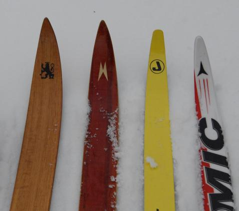 ridge skis length