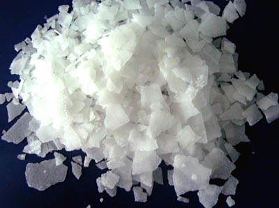 caustic soda production
