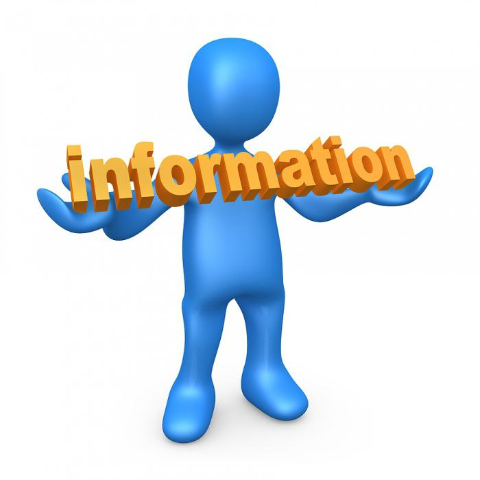 information information law