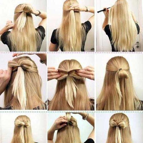 Как сделать красивую причёску из длинных волос девочке 449